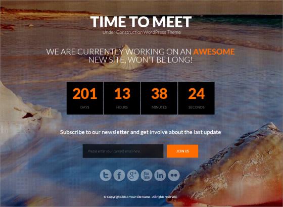 Time-to-Meet-Coming-Soon-WordPress-Theme