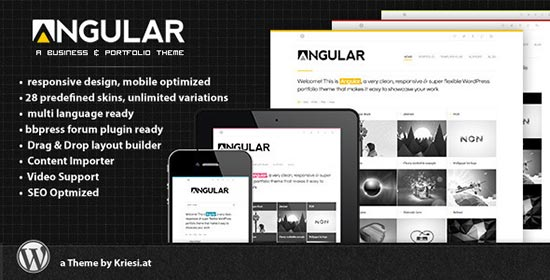 Angular-Wordpress-Theme