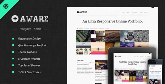 Aware-Wordpress-Theme