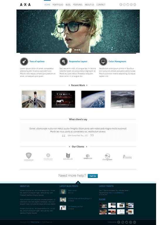 axa-wordpress-theme-free-wordpress-theme