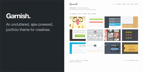 Garnish-Wordpress-Theme
